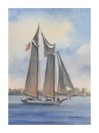 schooner-afternoon-5x7-inches