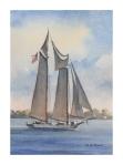 schooner-afternoon-5x7-inches