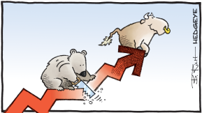 11.19.2019 bear with saw cartoon